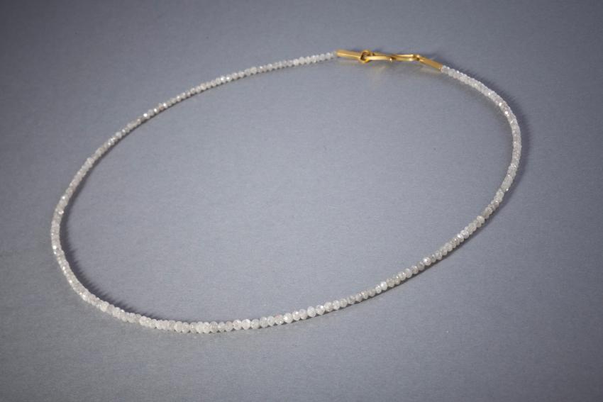 100 Rohdiamantkette, Gelbgold, ab € 1438,-