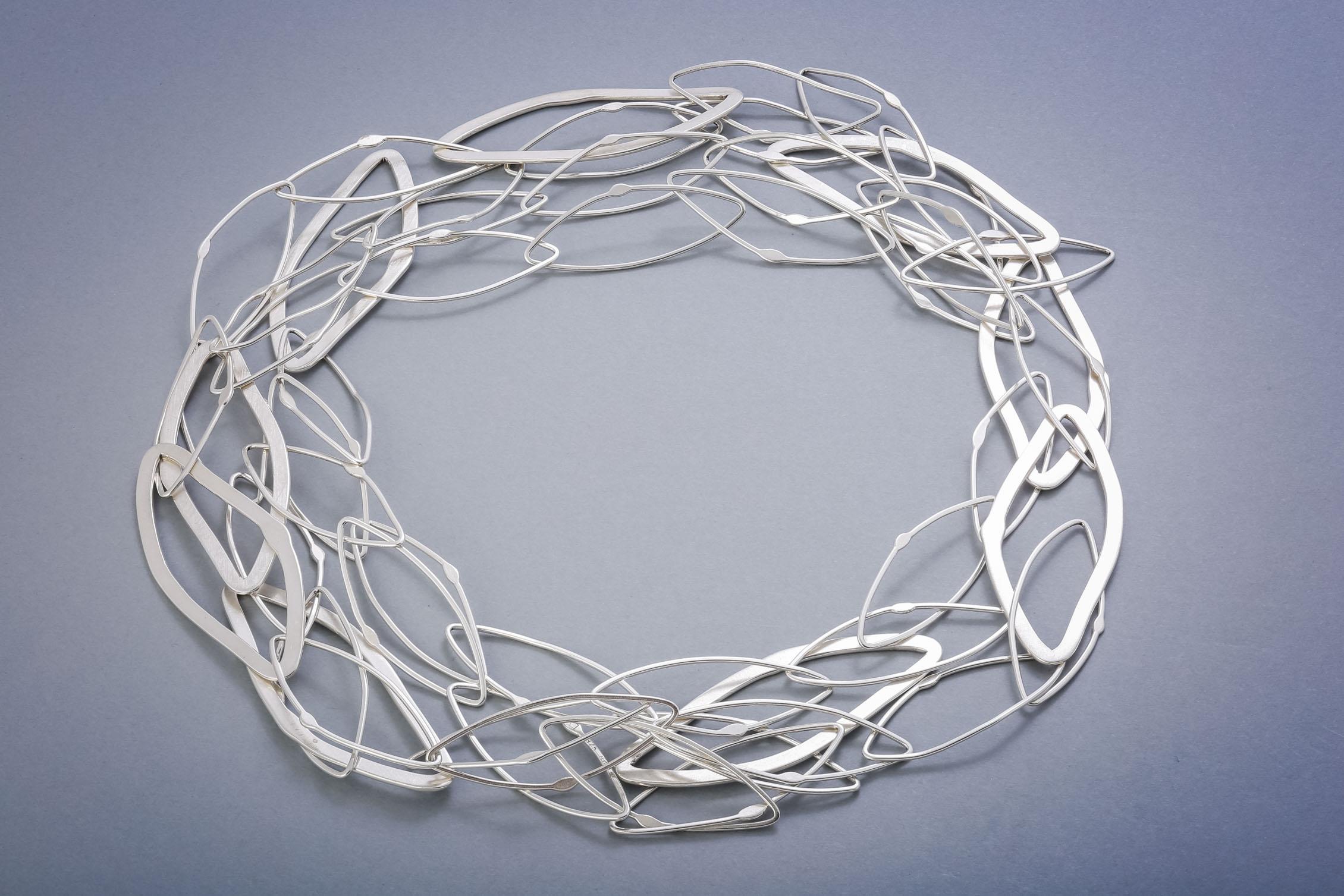 031 Silberkette, handgeschmiedet ab € 688,-