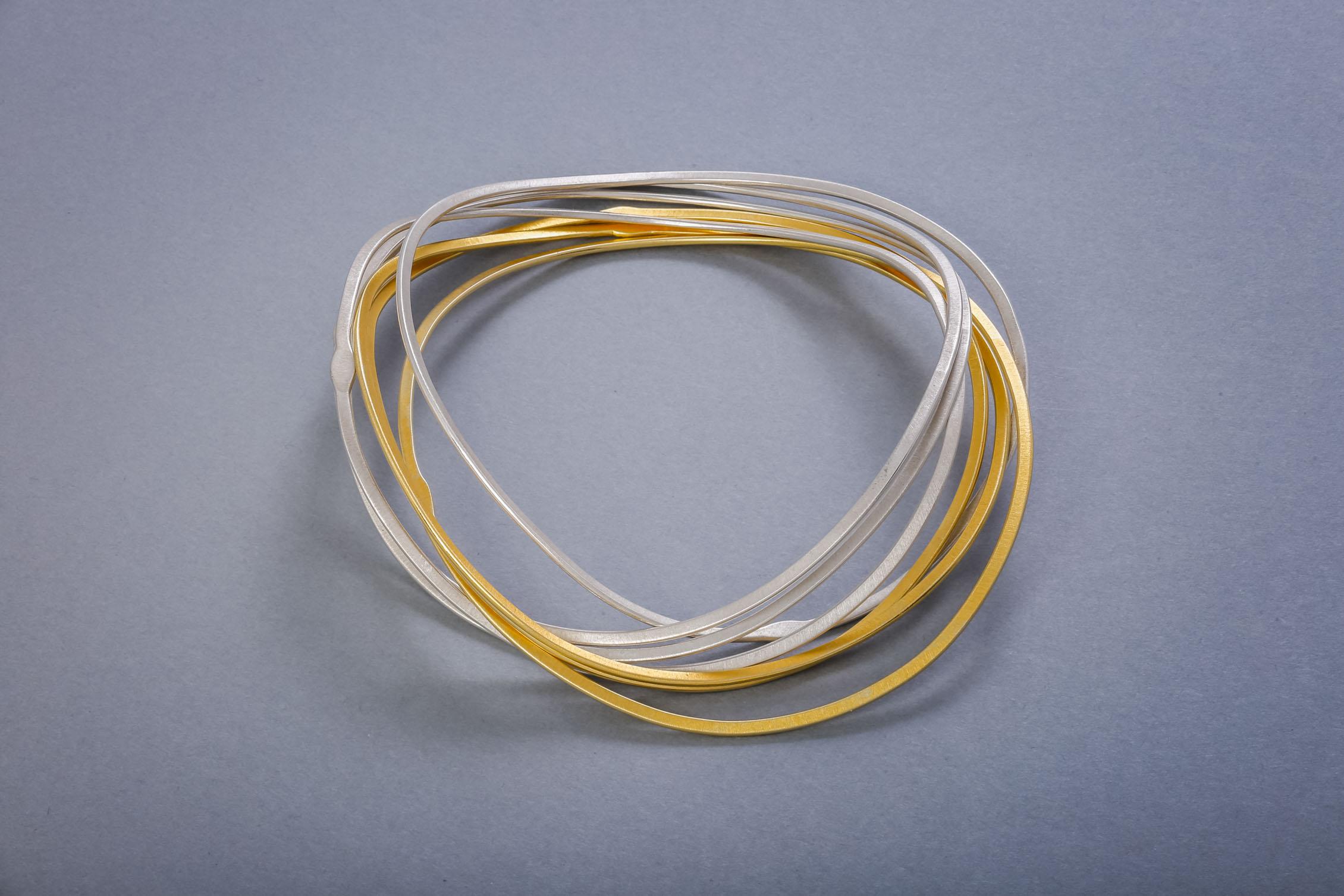 061 Armreif, Silber teils vergoldet ab € 498,-