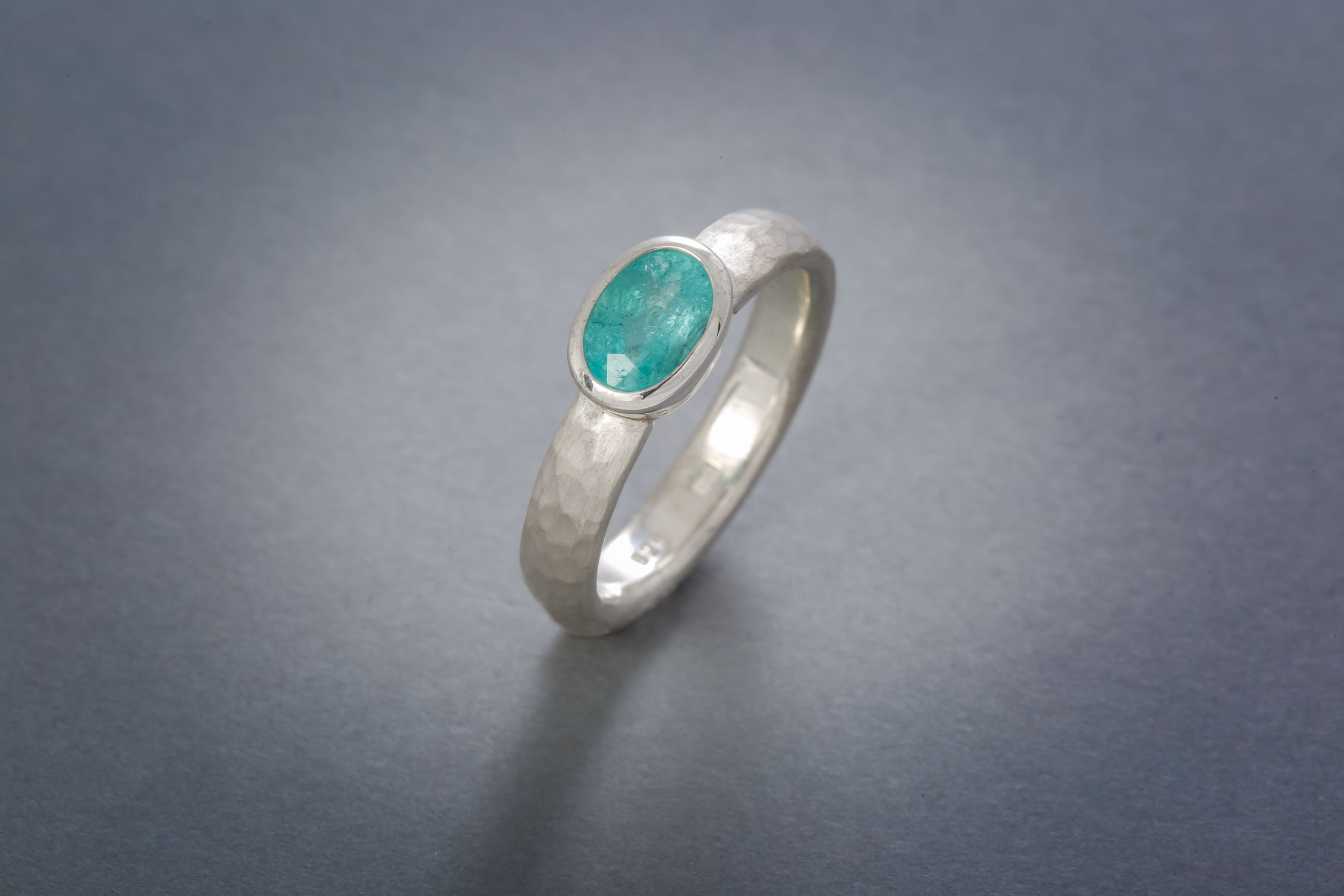 001 Silberring, Paraiba-Turmalin ab € 578,-