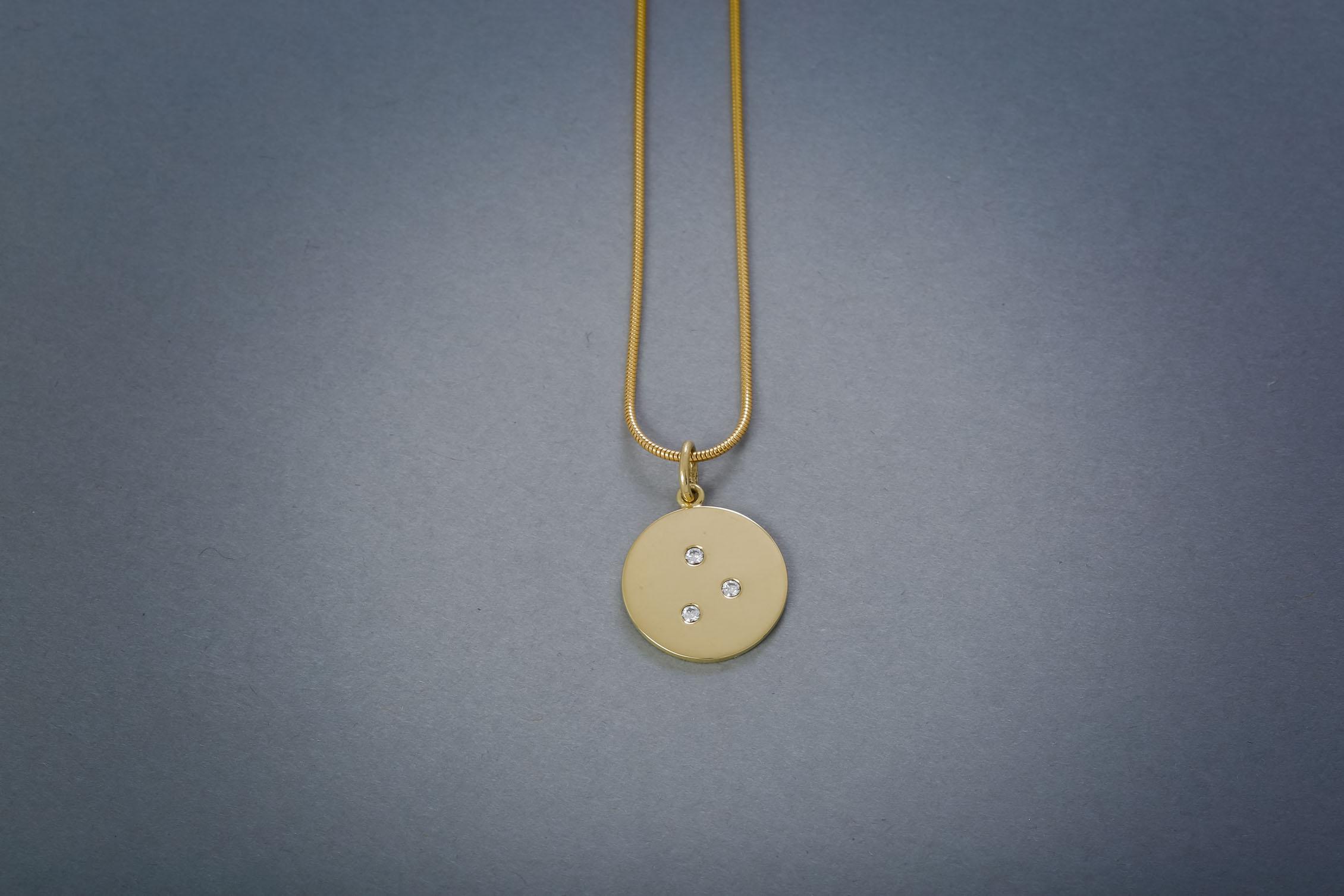100 Goldkette, 18kt, Brillant ab €982,-
